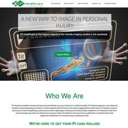 Roswell GA website design screenshot