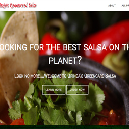 Gringa's Green Card Salsa