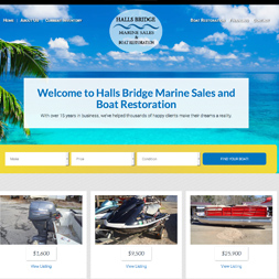 Halls Bridge Marine Sales