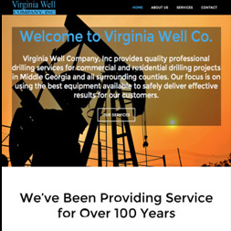 website design screenshot thomaston ga