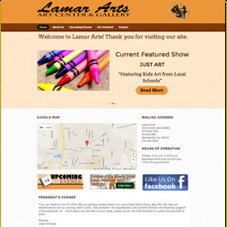 lamar county website design