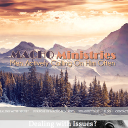 mens ministry website developement